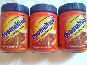 Ini dia....Ovomaltine Crunchy Cream