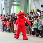 Elmo started the parade